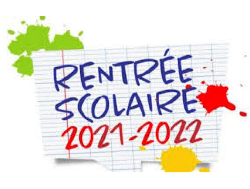 Dates de la rentrée 2021 pour les élèves et étudiants